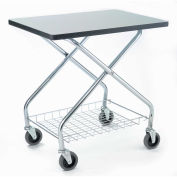 "Fold and Store Service Cart, 350 Lb. Capacity, 28""L x 19""W x 29""H"