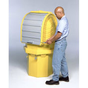 Ultra-Hard 9641 Top P1 Spill Pallet 1 Drum Locking Containment Unit, with Drain
