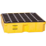 "EAGLE Modular Spill Pallet - 26x26-1/4x6-1/2"" - Without Drain - Yellow"