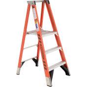 Werner P7403 3' Fiberglass Platform Step Ladder 375 lb. Cap