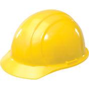 ERB™ Americana Hard Hat, 4-Point Pinlock Suspension, Yellow, 19762