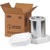 Box Partners 1 Gallon Foam Shipperkit, HAZFS1G