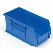 """AkroBin® Plastic Stacking Bin, 5-1/2""""W x 10-7/8""""D x 5""""H, Blue - Pkg Qty 12"""