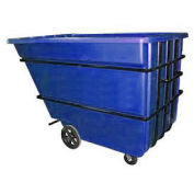 Bayhead 2.2 Cubic Yard Tilt Truck, Heavy Duty, 2500 Lb. Capacity, Blue