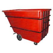 Bayhead 2.2 Cubic Yard Tilt Truck, Heavy Duty, 2500 Lb. Capacity, Red