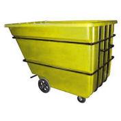 Bayhead 2.2 Cubic Yard Tilt Truck, Heavy Duty, 2500 Lb. Capacity, Yellow