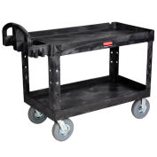 RUBBERMAID Plastic Service Cart -Tray Shelf - 54x25