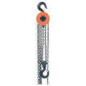 Manual Chain Hoist, 10,000 Lbs. Cap., 10' Lift