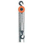 Manual Chain Hoist, 10,000 Lbs. Cap., 20' Lift