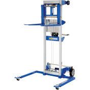 VESTIL Winch Lift Truck - Adjustable Straddle - 400-Lb. Capacity