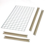"""Additional Level with Wire Deck, For High Capacity Rack, 60""""W x 36""""D"""