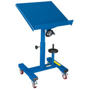 24 x 24 Tilting Work Table with Mechanical Crank, 300 Lb. Capacity
