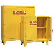 Heavy Duty Flammable Cabinet 60.5PSC, With Manual-Close Doors 60 Gallon