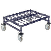 "Mobile Dunnage Rack w/Brake, Steel, 30""W x 24""D"
