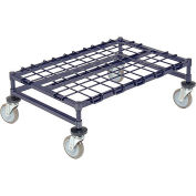 "Mobile Dunnage Rack, Steel, 36""W x 24""D"