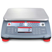 """Ohaus RC31P3 Ranger Count 3000 Compact Digital Counting Scale, 6lb x 0.002lb, 11-13/16"""" x 8-7/8"""""""