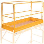 Guardrail Kit With Toeboards, 6'L