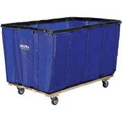 Vinyl Basket Bulk Truck, 12 Bushel, Blue
