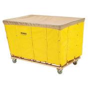 Vinyl Basket Bulk Truck, 16 Bushel, Yellow