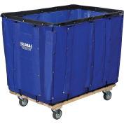 16 Bushel Blue Vinyl Basket Bulk Truck