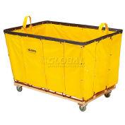 Vinyl Basket Bulk Truck, 20 Bushel, Yellow