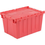 Red Distribution Container With Hinged Lid 21-7/8x15-1/4x12-7/8