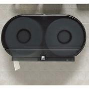"""Jumbo Twin-Roll Plastic Toilet Tissue Dispenser - 20-1/4x5-5/8x11-3/4"""""""