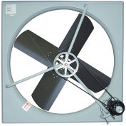 "TPI Belt-Drive Exhaust Fan - 48"" Blade Diameter - 120V - 1 HP"