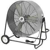 "TPI 36"" Portable Blower Fan Direct Drive Swivel Base 1/3 HP 12500 CFM"
