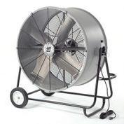 """42"""" Portable Blower Fan, Belt Drive, Swivel Base, 3/4 HP, 18200 CFM"""