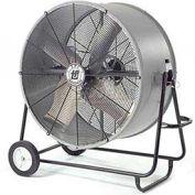 """TPI 48"""" Portable Blower Fan Belt Drive Swivel Base Hazardous Location 1 HP 22700 CFM"""