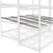"Gravity Flow Carton Rack Additional Level Kit, 96""W x 96""D"