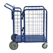 "Fold-A-Way Steel Stock Cart 750 Lb. Capacity, 38""L x 28""W x 39""H"