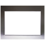 """Ghent Aluminum Frame Non-Magnetic Whiteboard w/1 Marker and Eraser, 48-1/2"""" x 144-1/2"""""""