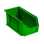 """Akro-Mils Plastic Stacking Bin 30230, 5-1/2""""W x 10-7/8""""D x 5""""H, Green - Pkg Qty 12"""