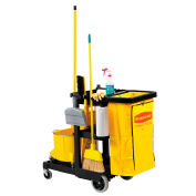 RUBBERMAID Janitor Cart - 46x21-3/4x38-3/8""