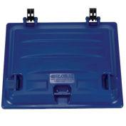 Bulk Container Lid, Plastic, Blue