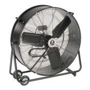 "TPI 30"" Portable Blower Fan Direct Drive Swivel Base 1/3 HP 4400 CFM"