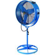 """Airmaster Fan 30"""" Evaporative Blower Pedestal Fan, 8800CFM"""