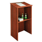 "Stand-Up Lectern, Mahogany, 23""W X 15-3/4""D X 45-7/8""H"
