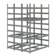 "Bar Storage Rack, Steel, 56""W X 60""D X 84""H"