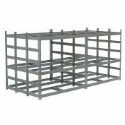 "Bar Storage Rack, Steel, 56""W X 120""D X 60""H"