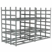 "Bar Storage Rack, Steel, 56""W X 120""D X 84""H"
