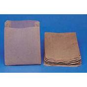 Kraft Waxed Paper Sanitary Napkin Receptacle Liners, 500 Liners/Carton