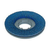 """Powr-Flite PFDS20 15""""Poly Shower Feed Brush With Clutch Plate For Carpet & Hard Surface"""