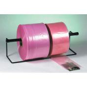 "2 Mil Anti-Static Poly Tubing 24"" x 2150' Pink Roll, PTAS2402"
