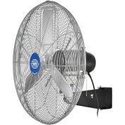 """Deluxe Oscillating Wall Mount Fan, 24"""" Diameter, 1/2HP, 8,650CFM"""