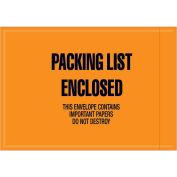 "4-1/2""x6"" Orange Packing List Enclosed, Full Face Mil-Spec, 1000 Pack"