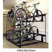 6-Bike Rack Double Decker, Non-Locking