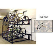 8-Bike Rack Double Decker, Locking